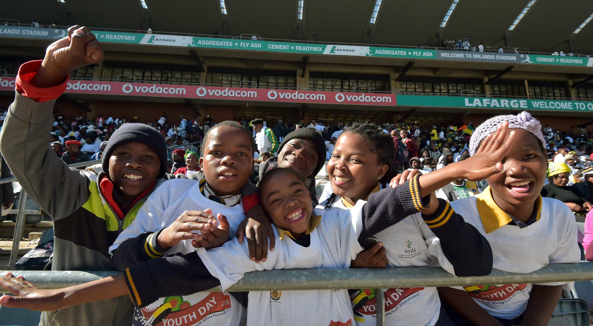 Celebrating Youth Day in Soweto, 2016