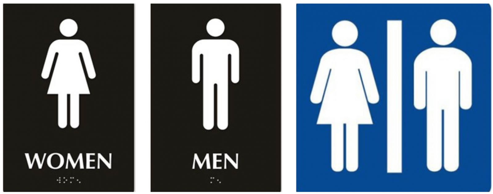 school bathrooms signs. Elicit And Explain That On February 22, 2017, The Trump Administration Repealed Federal Guidelines Protecting Transgender Students In Public Schools. School Bathrooms Signs